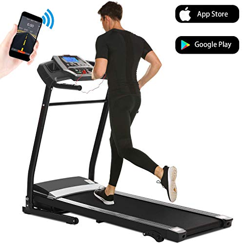 Aceshin Treadmills for Home with Incline, Treadmill Folding for Small Spaces Running, Motorized...