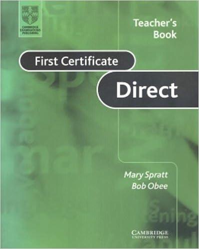 Lataa epub-kirjat verkossa First Certificate Direct Teacher's book PDF FB2 by Mary Spratt
