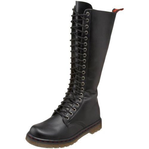 Pleaser Men's Disorder-400/B Boot,Black Polyurethane,9 M US