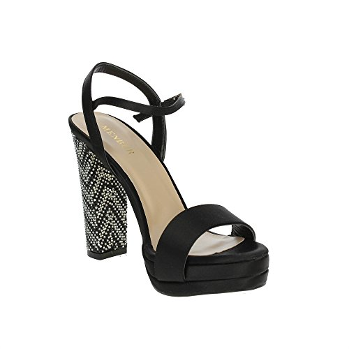 Menbur Noir 09255 Sandale Femme Femme Menbur Noir Sandale 09255 w4HFwqv