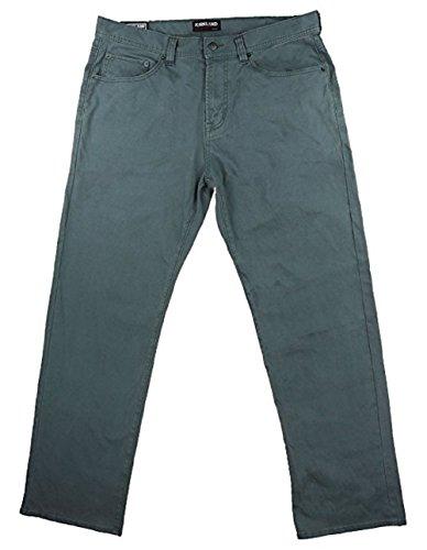 Kirkland Signature Mens Standard fit 5-Pocket Bedford Cord Pant,Steel,32x32