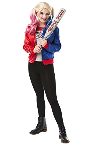 Rubie's Costume company Women's Suicide Squad Harley Quinn Costume Kit, As Shown, Teen ()