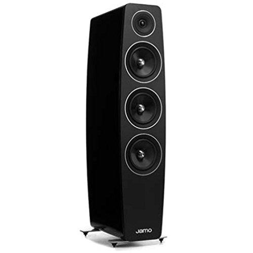 (Jamo C-109-HG-BLK Floorstanding Speaker - High Gloss Black)