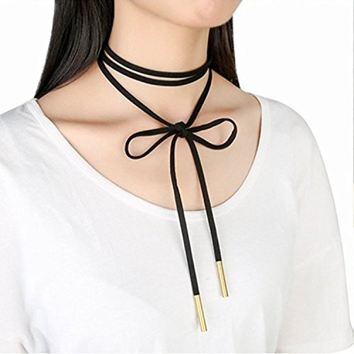 [Adecco LLC Fashion Trend Western Style Multilayer Choker Necklace Clavicular Chain (style 3)] (Western Day Dress Up Ideas)