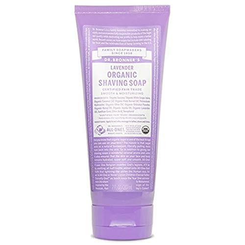 Dr. Bronner's Shaving Gel, Lavender - 7 oz
