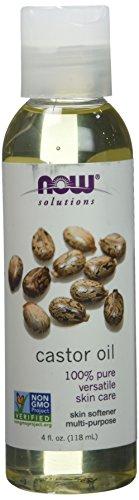 Now Solutions Castor Oil, 4-Ounce