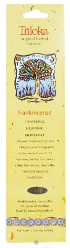 Frankincense - Triloka Original Herbal Incense Sticks