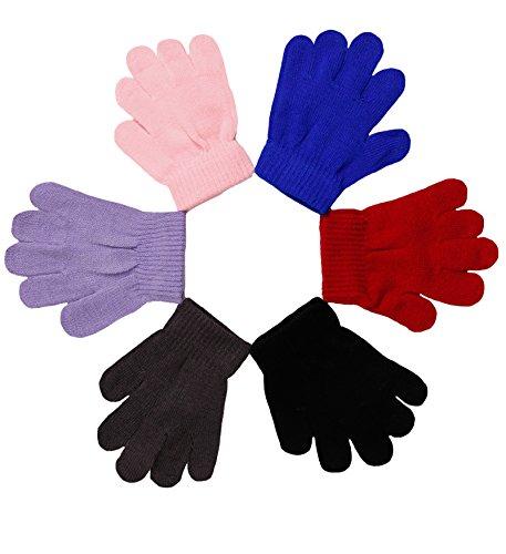 Childrens Magic Gloves (2ND DATE Kid's Winter Magic Gloves-ASST-Pack of 12)