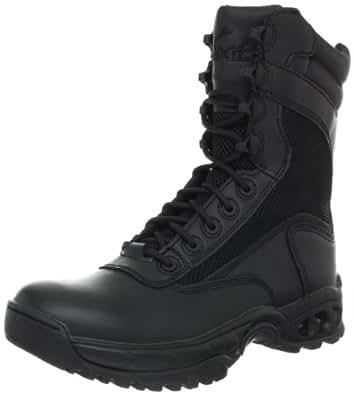 Ridge Footwear Men's Air-Tac Plus Zipper Boot,Black,7 W US