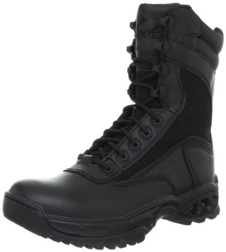 Ridge Footwear Men's Air-Tac Plus Zipper Boot,Black,4 M US