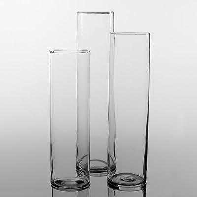 Eastland® Tall Cylinder Vases Set of 3