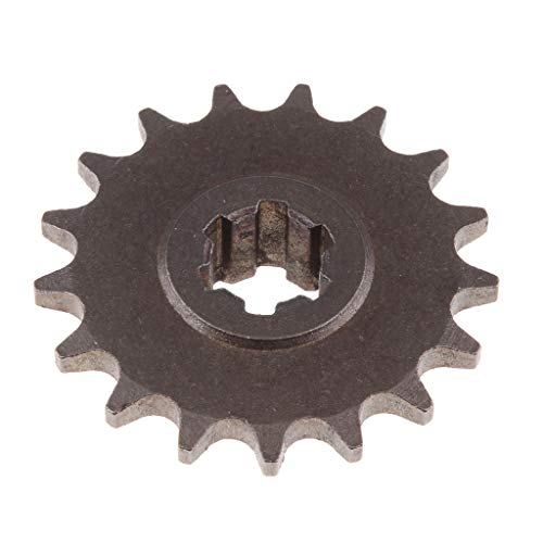 Flameer Gear Box 17 Teeth T8F Front Sprocket Pinion for 49CC 2-Stroke Engine ATV Quad Mini Dirt Pocket Bike