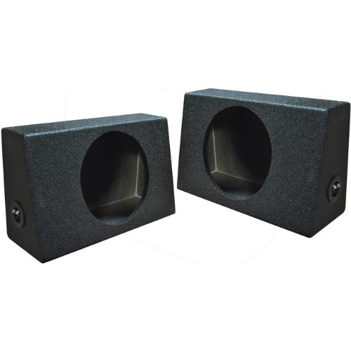 (2) Qpower QBOMB Single 12 Subwoofer Boxes