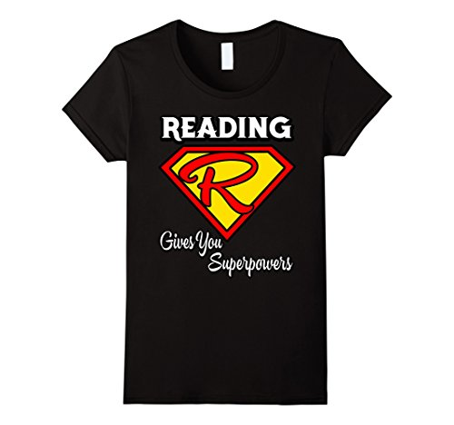 Womens Reading Gives You Superpowers T-Shirt