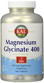 KAL - Magnesium Glycinate 400, 180 tablets by Kal