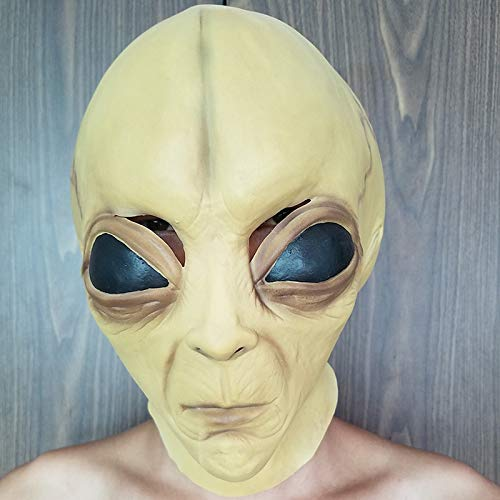 Camp Twin Lakes Halloween (TANGGOOO Halloween Latex Mask Alien Mask Cosplay Performance Props Haunted House Play Toddler Must Haves 8 Year Old Girl Gifts Childrens Favourites Superhero Party Favors LOL)