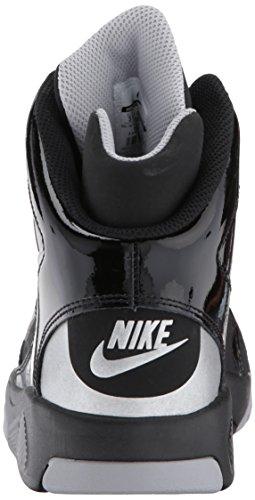Nike Flight Lite White Multi Youths Trainers Black/Metallic Silver-Wolf Grey