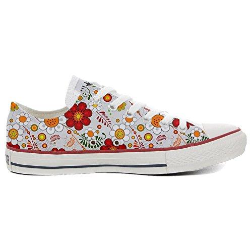 Star Slim Personalisierte Paisley Schuhe Customized Handwerk Schuhe Converse Floral All Axnxp