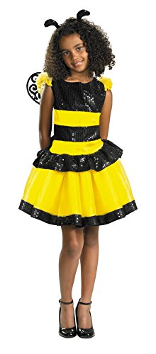 [Morris Costumes Razzle Dazzle Bee Child 7-8] (Scoobydoo Adult Plus Costumes)