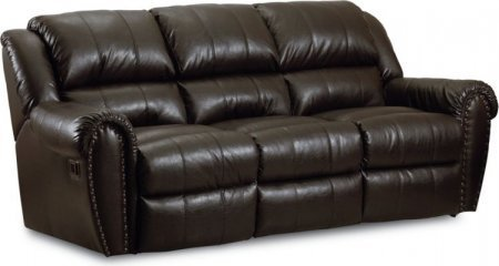 Lane Furniture 214-39-1614-21 Lane Summerlin Double Reclining Sofa in Tobacco (Simple Solutions