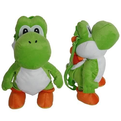 Nintendo Super Mario Bros. Yoshi Plush Doll Backpack, Baby & Kids Zone