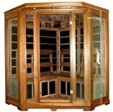 Four 4 Person Cedar Carbon Fiber FAR Infrared FIR Sauna Indoor
