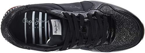 Pepe Nero 999 Jeans Ginnastica W Basse Scarpe Donna Winner Black da Verona afqgAUna
