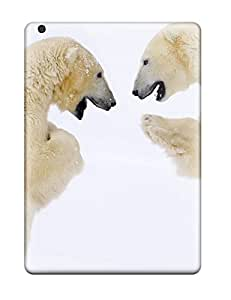 ZippyDoritEduard Perfect Tpu Case For Ipad Air/ Anti-scratch Protector Case (male Bears Sparring Canada)
