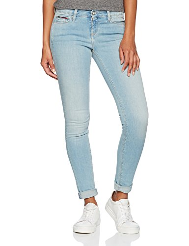 Gris Mujer Rise Mid Blue Skinny Sgbst Grey Nora Stretch Jeans Tommy soft Vaqueros gCwqUU