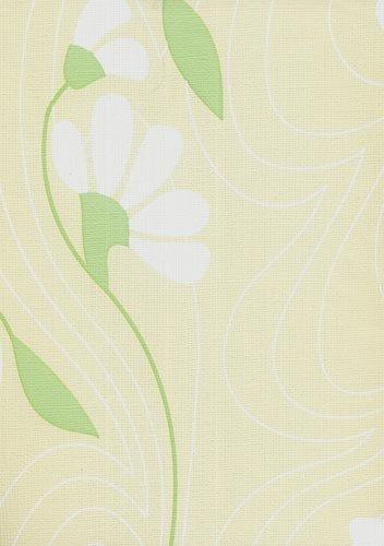 papel de parede bobinex classique flores creme