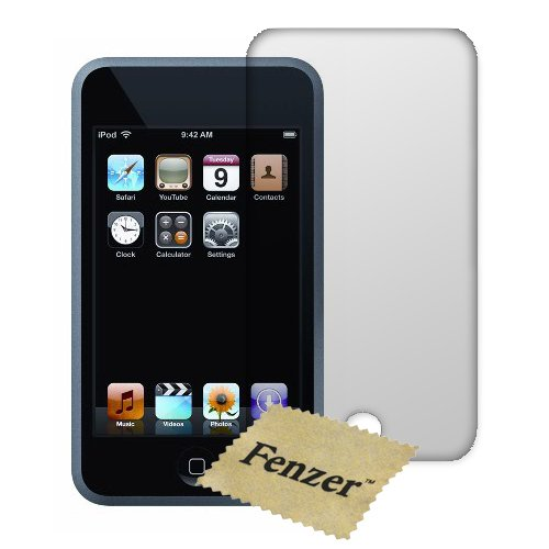 100 Pack Fenzer Anti-Scratch Clear Screen Protector for Apple iPod Touch Gen2 Gen3 2nd 3rd Generation w/ Cloth