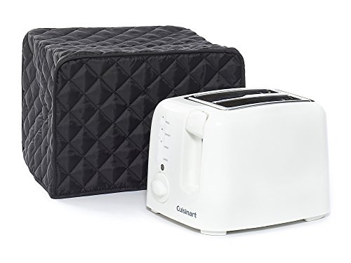Covermates   Toaster Cover   11W X 8D X 8H   Diamond Collection   2 Yr Warranty   Year Around Protection   Black