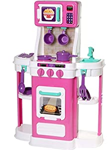 Amloid unassembled my first cookin 39 kitchen for Kitchen set wala game