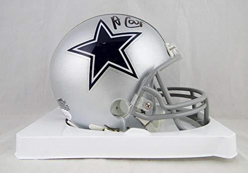 Amari Cooper Autographed Dallas Cowboys Mini Helmet- JSA W Authenticated Black