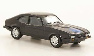 Ford Capri MkIII, Viejo Ford Freunde, negro, Modelo de Auto, modello completo, Herpa 1:87