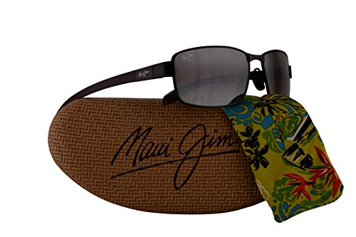 Maui Jim Kona Winds Sunglasses Burgundy w/Polarized Maui Rose Lens - Maui Bay Byron Jim