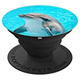Jame's Designs: Cute Dolphin In Water Smartphone PopSocket - PopSockets Grip and Stand for Phones and Tablets