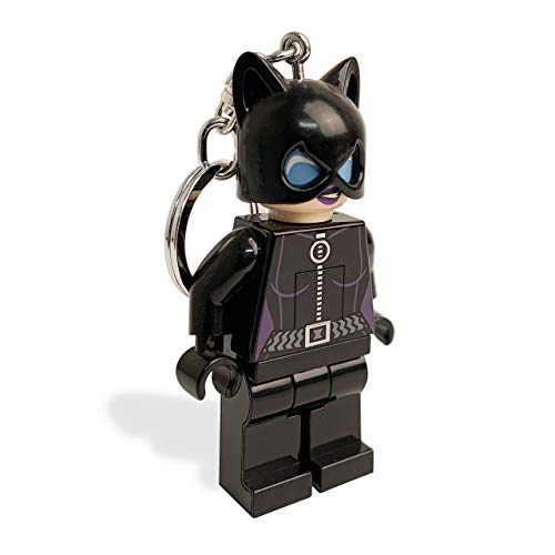 LEGO DC Universe Super Heroes Catwoman Keychain (Lego Old Catwoman)