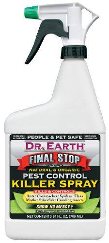 Dr Earth 8000 24 Oz Final Stop® Pest Control Killer Spray Rtu by Dr. Earth