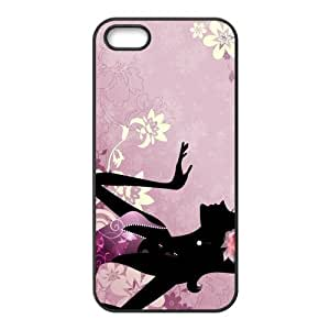 Custom Vector Back Cover Case for iphone5,5S JN5S-125