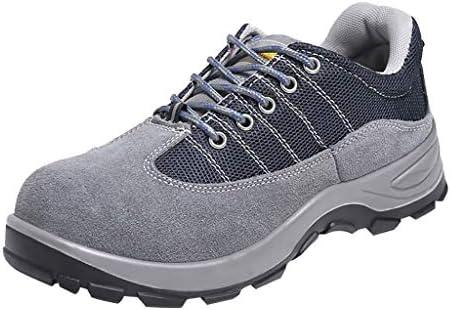 作業靴 軽量で消臭・防ダニの男性用シューズ、夏の通気性とパンク防止の作業靴、現場での耐摩耗性のアンチピアスシューズ 安全靴 (色 : K k, サイズ さいず : 40)