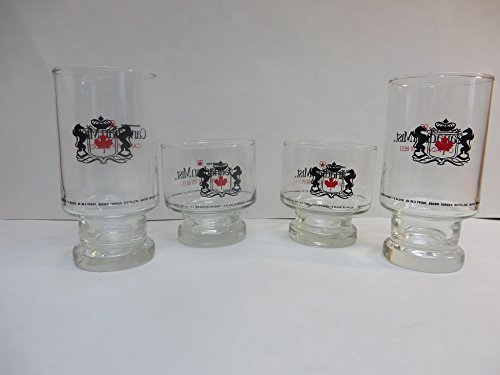 Canadian Mist 4 Glass Set