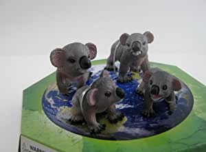 Amazon Com Wild Republic Eco Dome Koala Family Toys