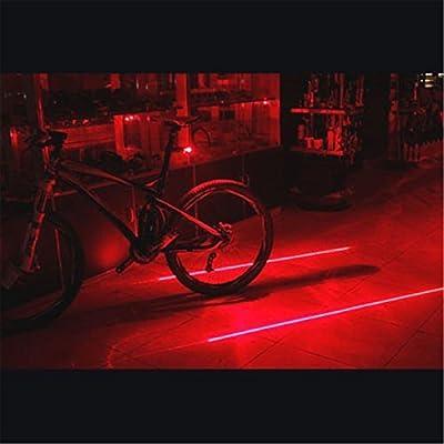 Denshine® LED Cycling Bike Bicycle Rear Tail Safety Warning Flashing Light