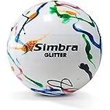 Simbra Field Hockey Ball Glitter Shiny, PVC Hollow-Core 157Gr, Super Smooth, Training Practice Smart Speed Field Hockey Ball