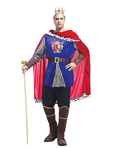 Rubber Johnnies  Deluxe King Arthur Costume, Prince Charming, -