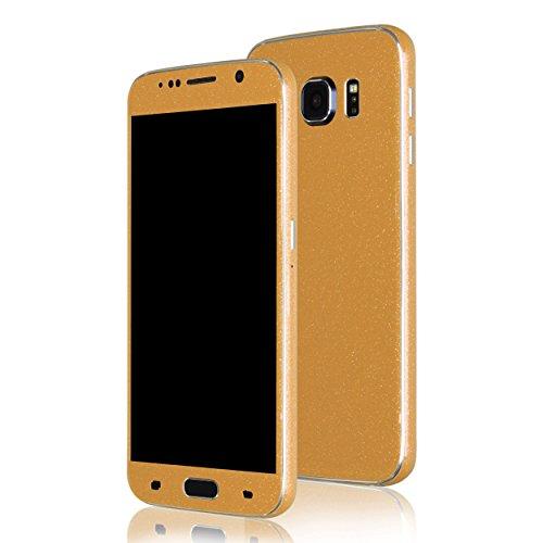 AppSkins Folien-Set Samsung Galaxy S6 Diamond pure gold