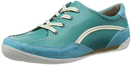 Derby Marc Katja Lagoon Damen 592 Türkis Shoes qwa4x1