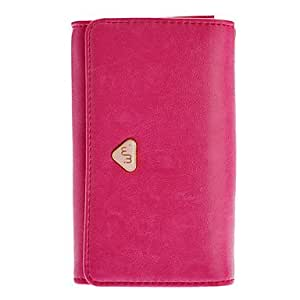 PU Leather Zip Wallet Credit Card Case Pouches Handbag Purse for Samsung Galaxy S3 i9300 --- COLOR:Black