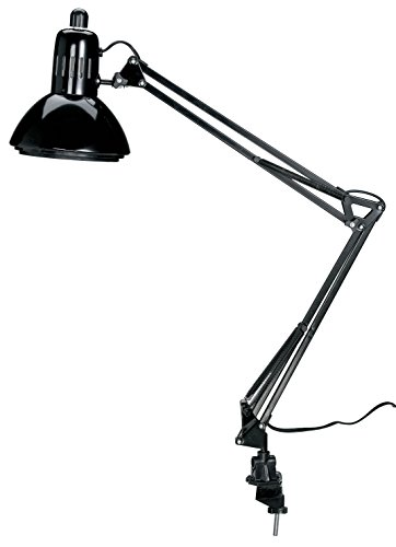Alvin CFL2540-B Swing-Arm Lamp with Fluorescent Bulb (Alvin Swing Arm)